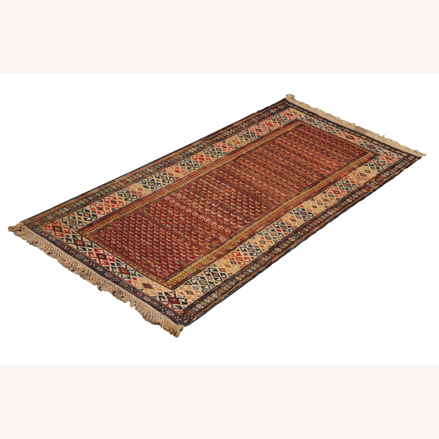 19th-Century Antique Soumak Rug - image-5