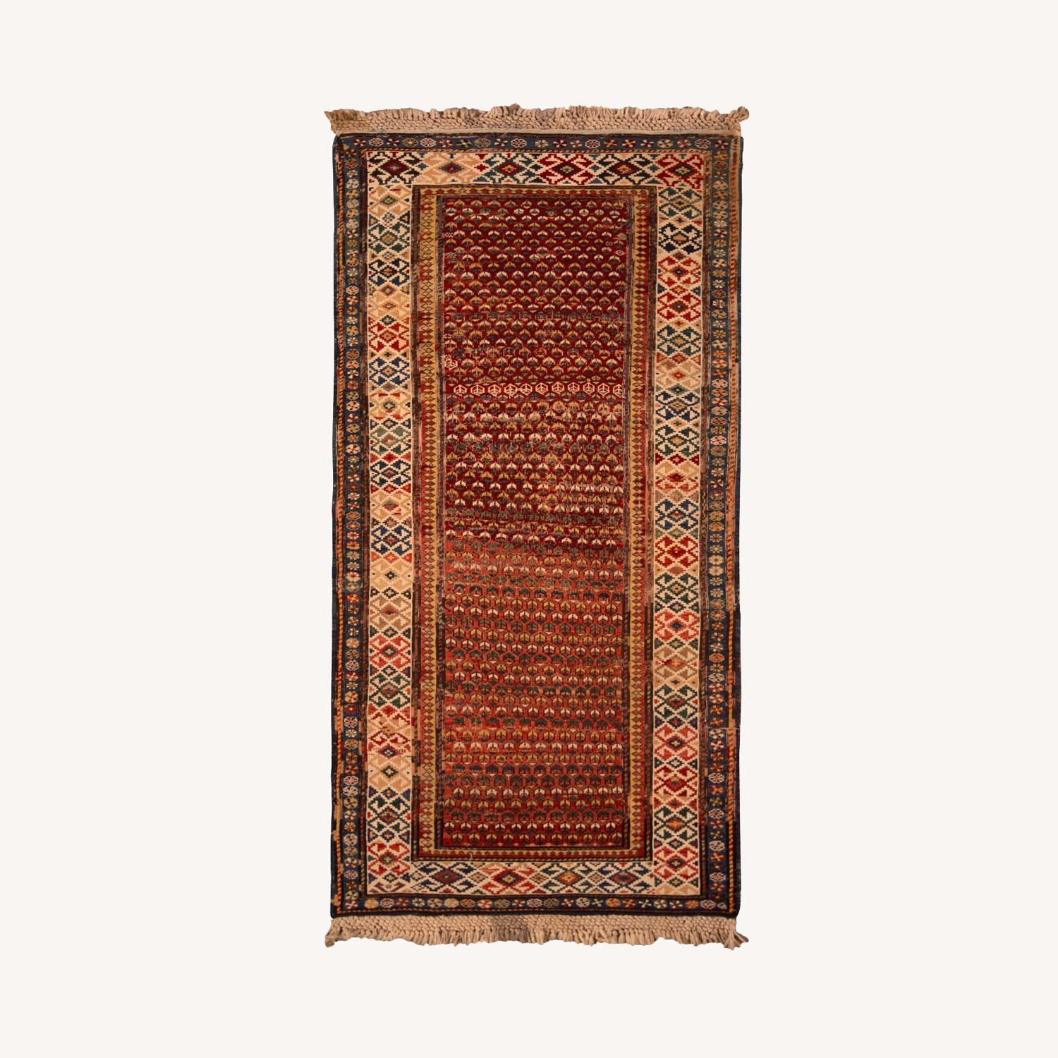 19th-Century Antique Soumak Rug - image-0