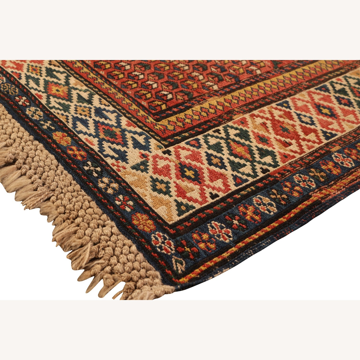 19th-Century Antique Soumak Rug - image-2