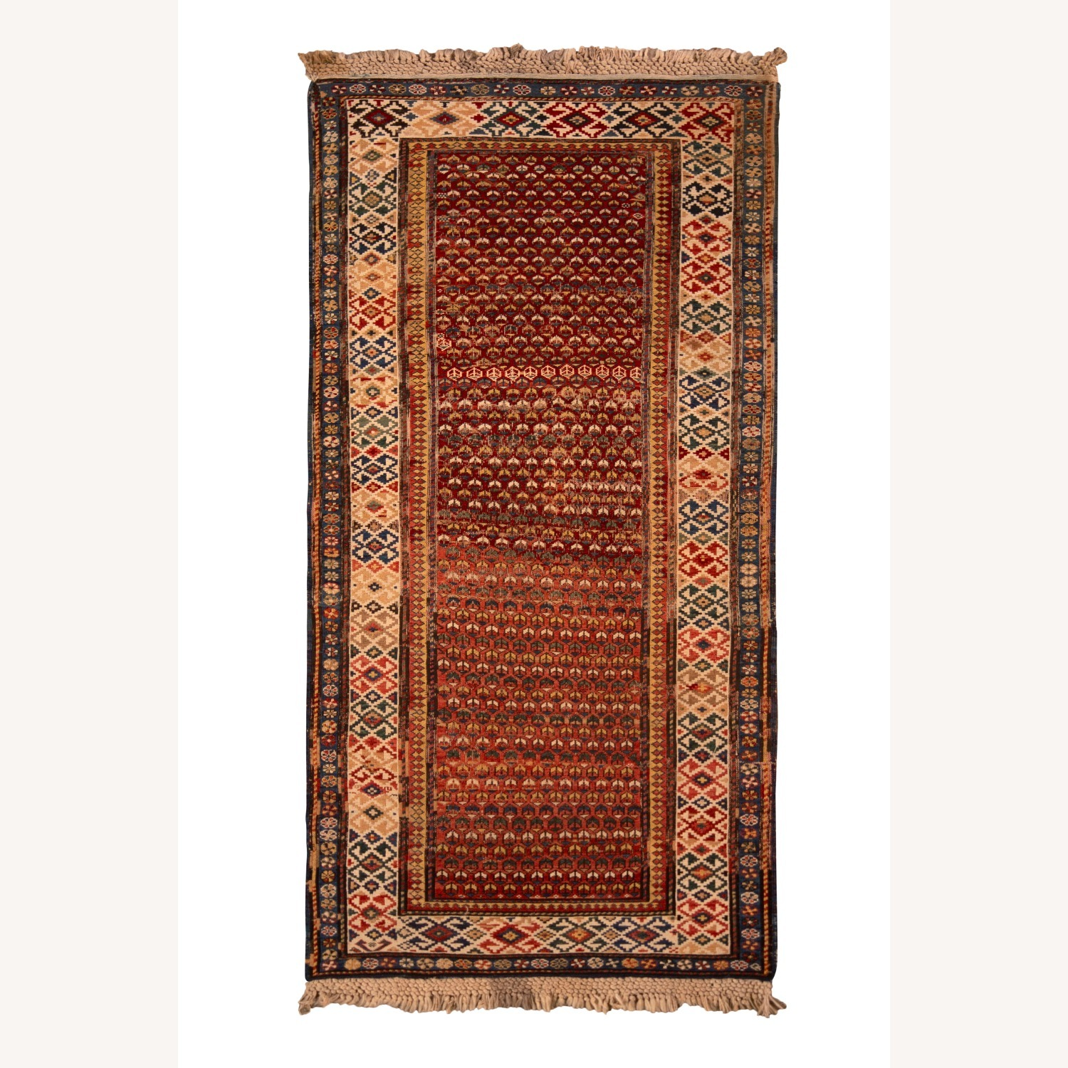 19th-Century Antique Soumak Rug - image-1