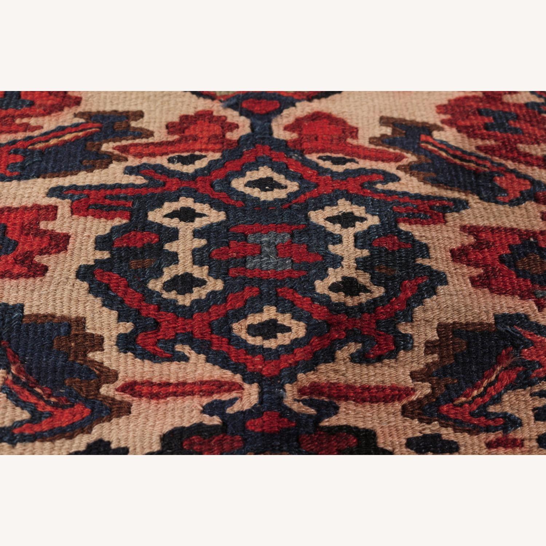 Vintage Senneh Kilim All Over Pattern - image-4