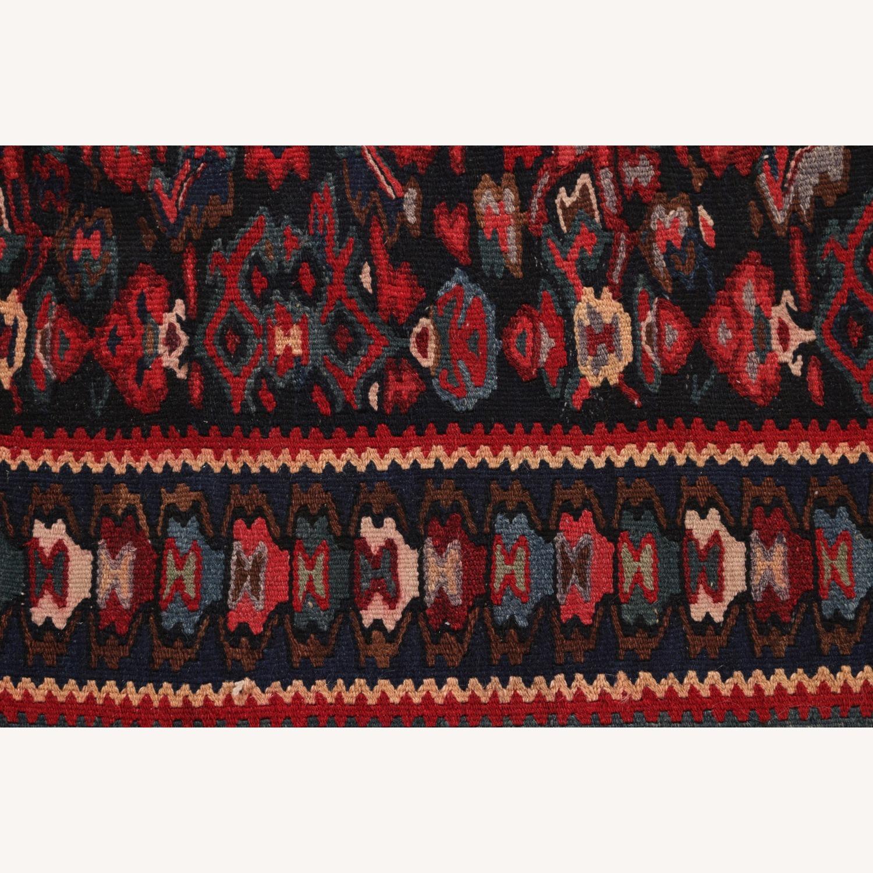 Vintage Senneh Kilim All Over Pattern - image-6