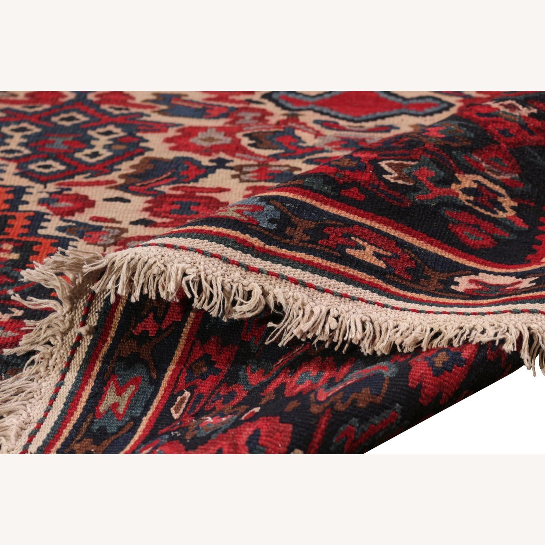 Vintage Senneh Kilim All Over Pattern - image-5