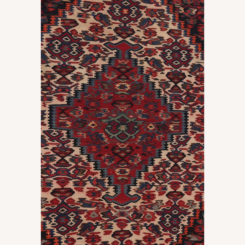 Vintage Senneh Kilim All Over Pattern - image-2