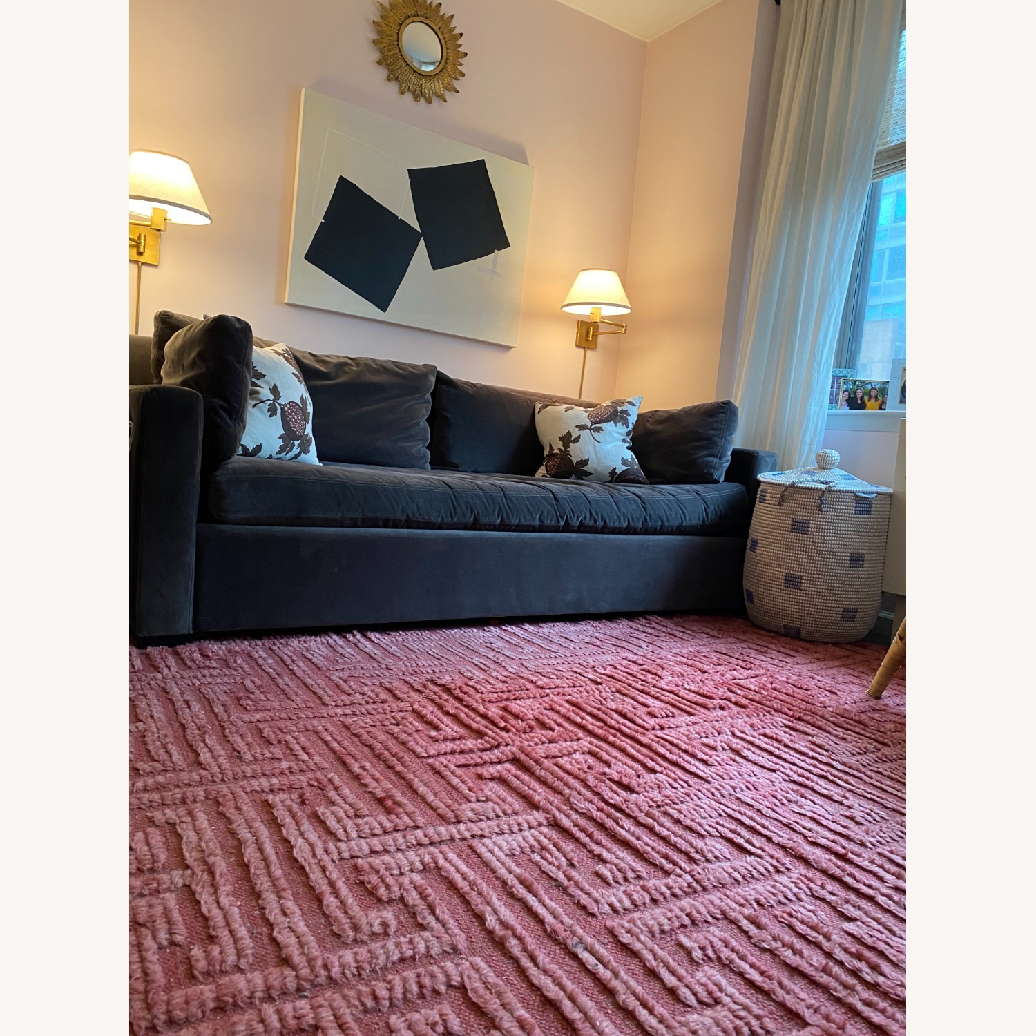 Pink/Red Area Rug - image-3