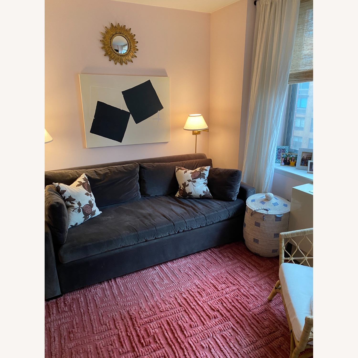 Pink/Red Area Rug - image-4