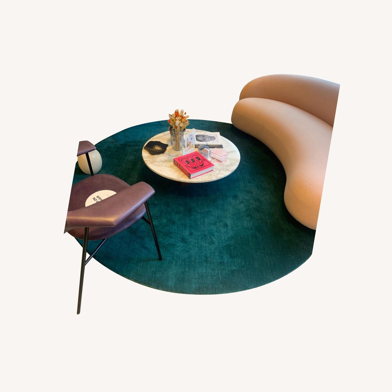Massimo Copenhagen Green Circular Rug - image-0