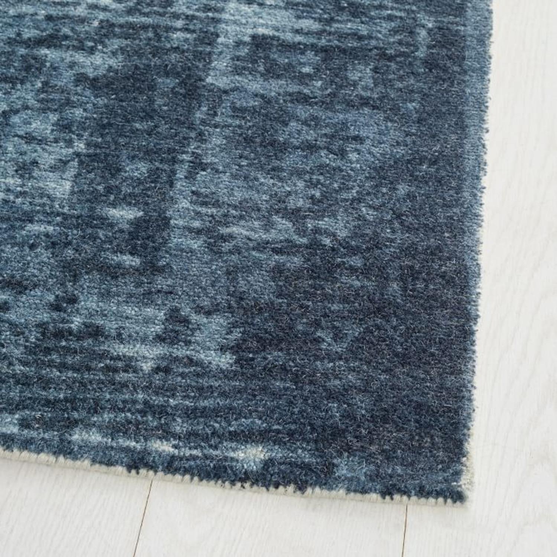 West Elm Distressed Arabesque Wool Rug - image-3