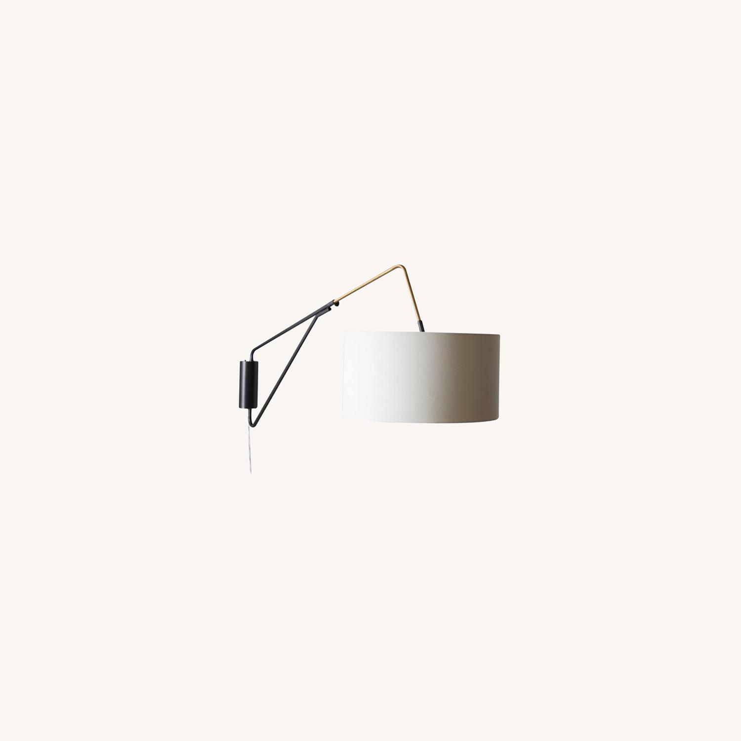 West Elm Overarching Mid-Century Sconce - image-0