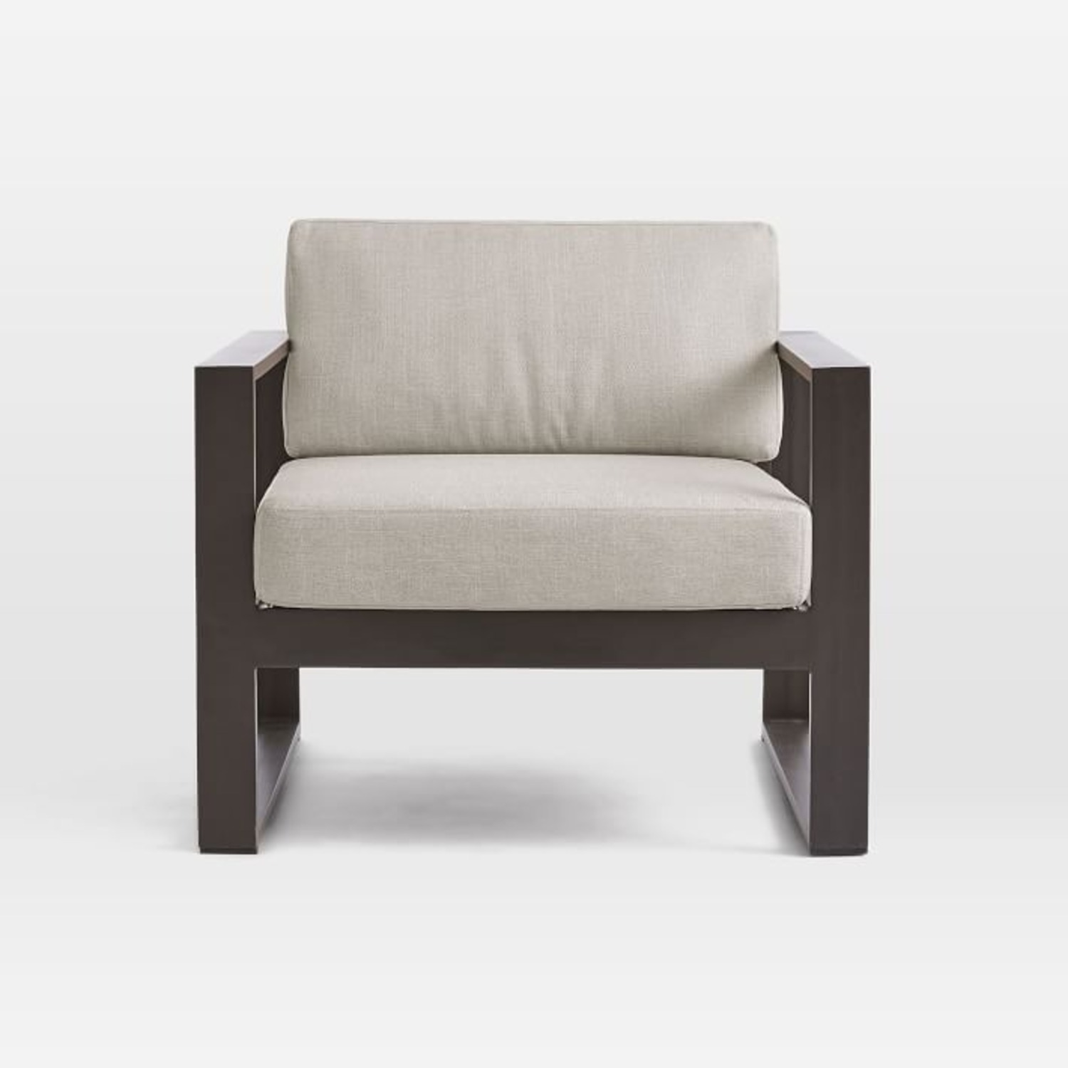 West Elm Portside Aluminum Outdoor Lounge Chair - image-3