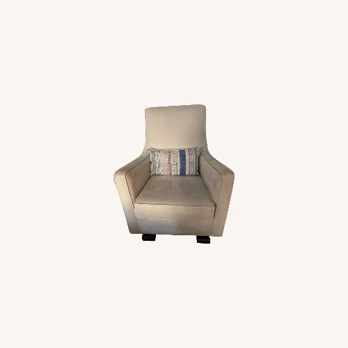 Used Monte Design Luca Glider Beige/ Natural for sale on AptDeco