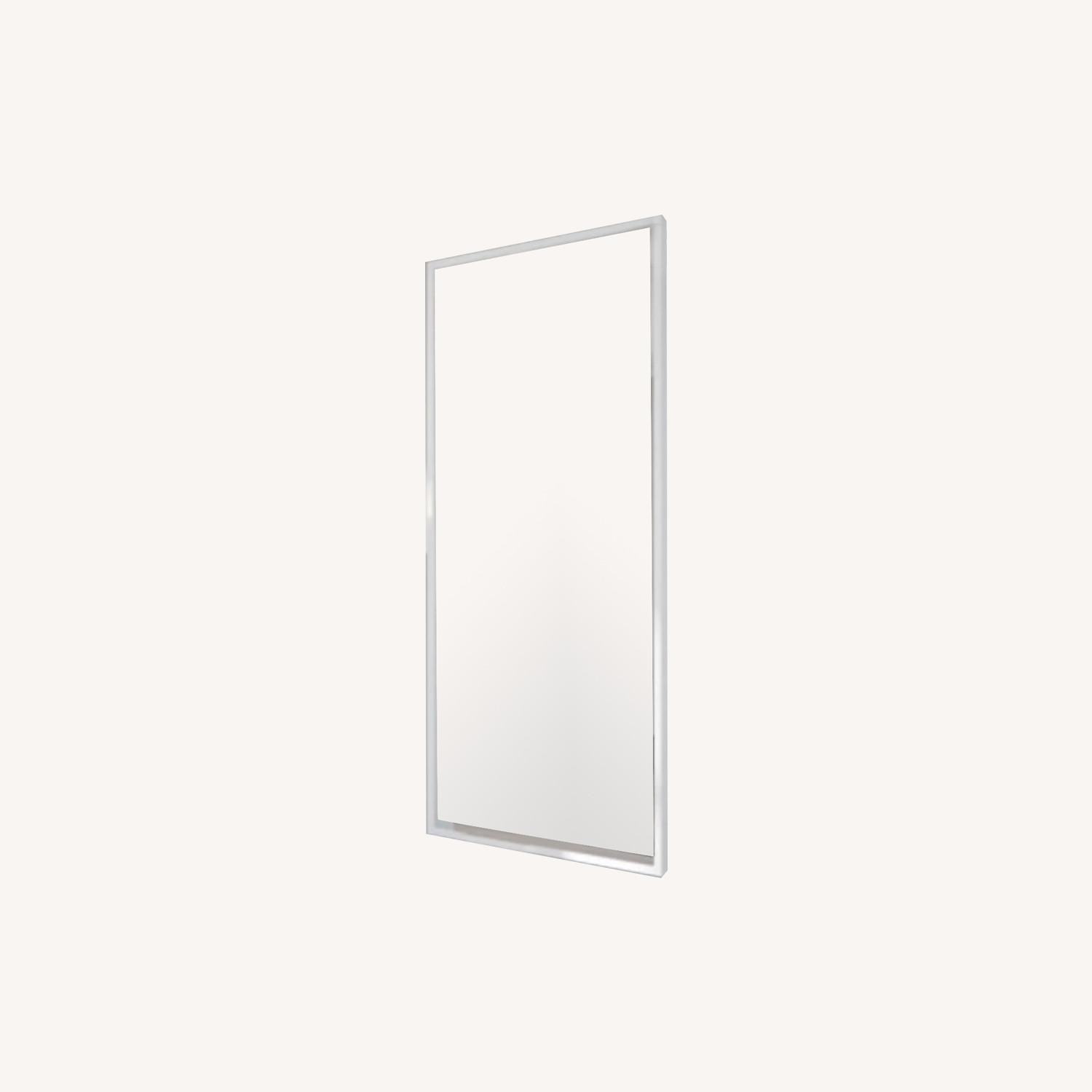 IKEA White STAVE Wall Mirror - image-0