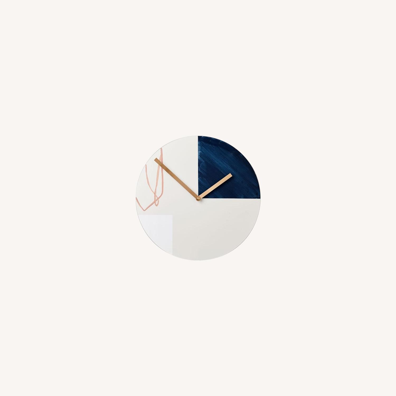 West Elm Scribble Clock - image-0
