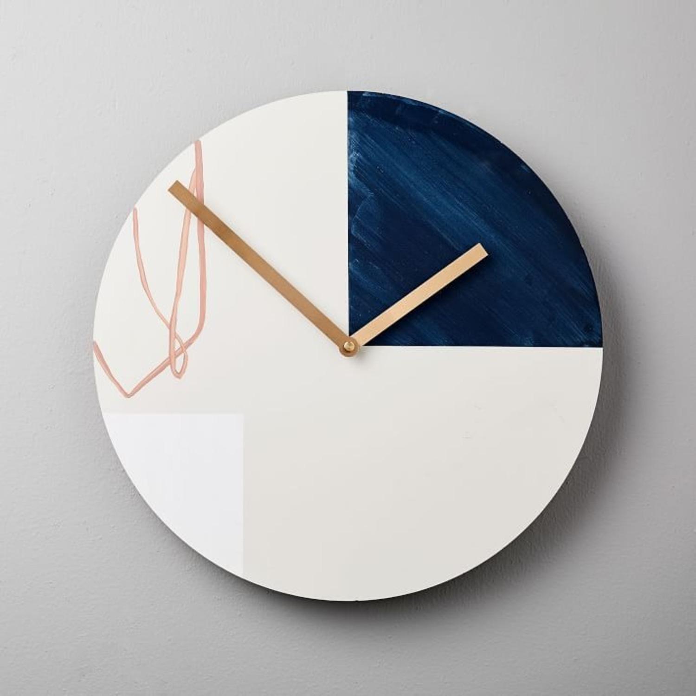West Elm Scribble Clock - image-1