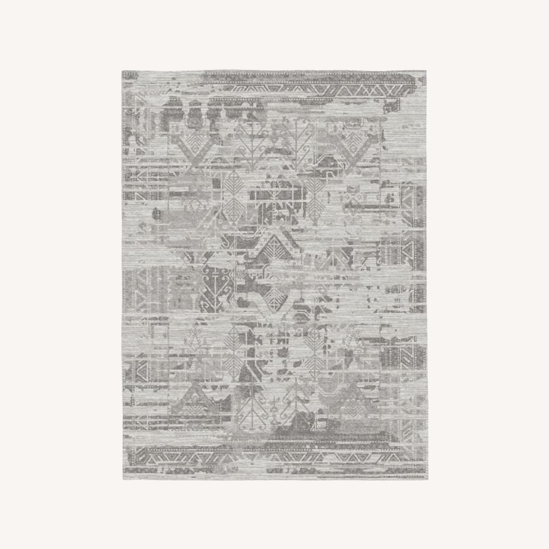 West Elm Arras Rug, Frost Gray - image-0
