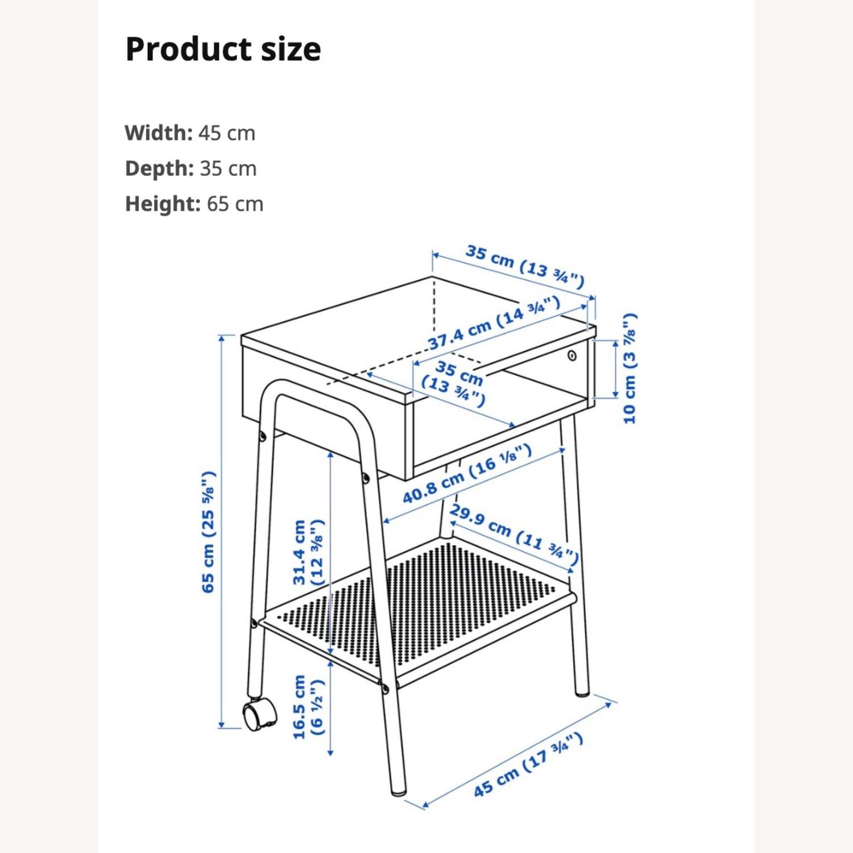 IKEA SETSKOG Nightstand / Bedside Table - image-2