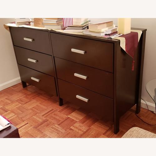 Used Coaster Fine Furniture 6 Drawer Dresser Espresso Finish for sale on AptDeco