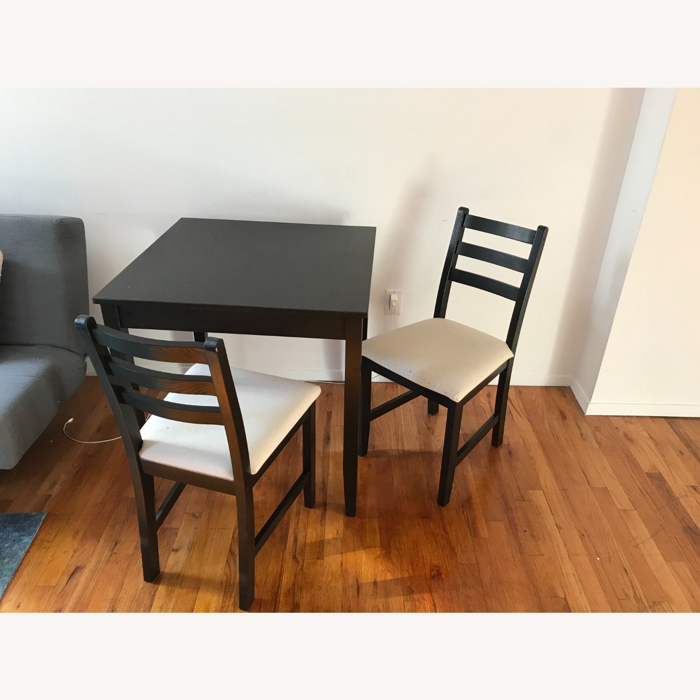 IKEA Table + 2 Chairs Set - image-3
