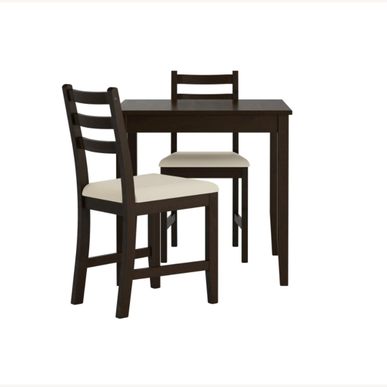 IKEA Table + 2 Chairs Set - image-0