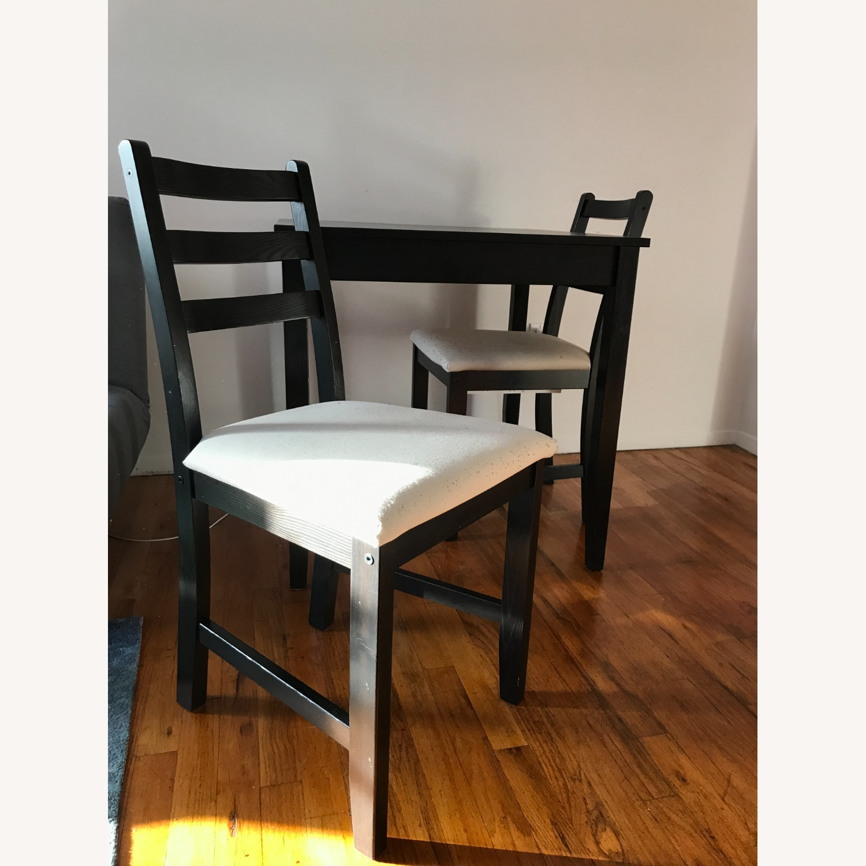 IKEA Table + 2 Chairs Set - image-1