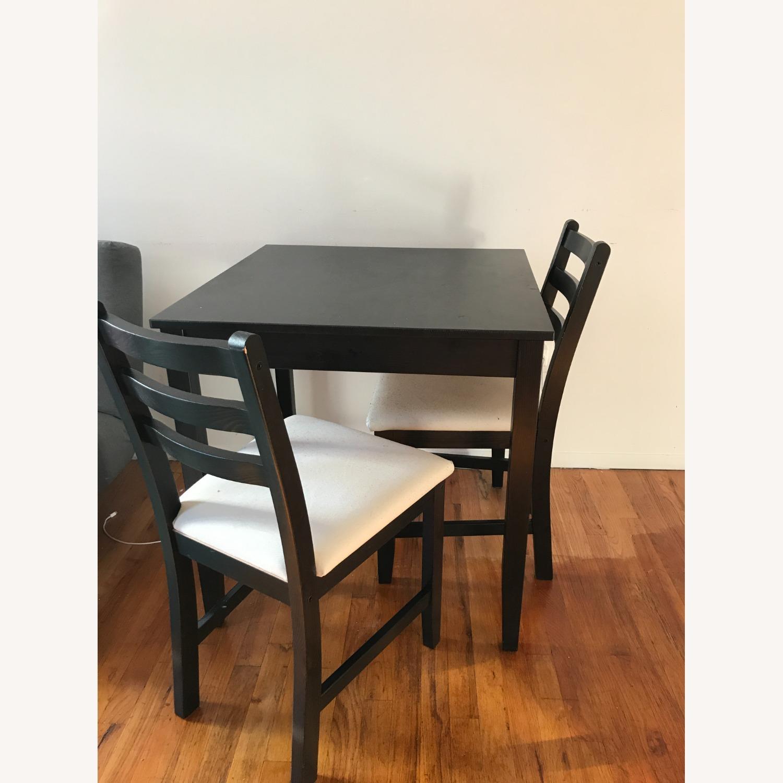 IKEA Table + 2 Chairs Set - image-2