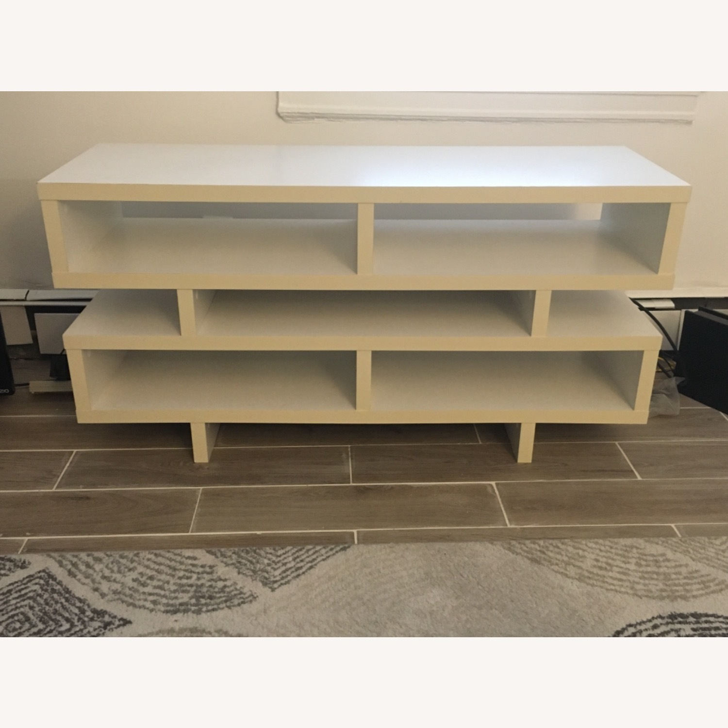 White TV Stand - image-1