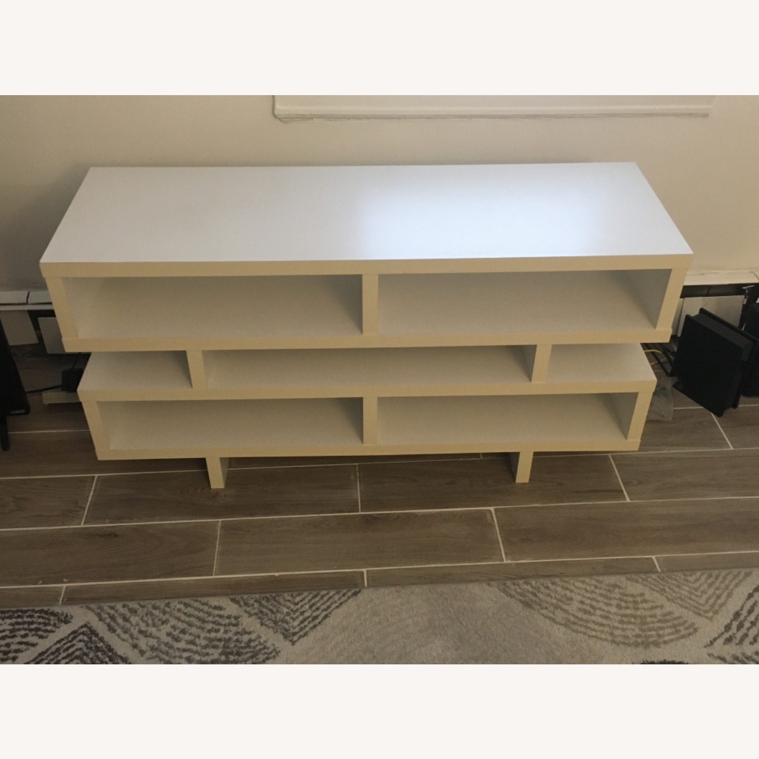 White TV Stand - image-2