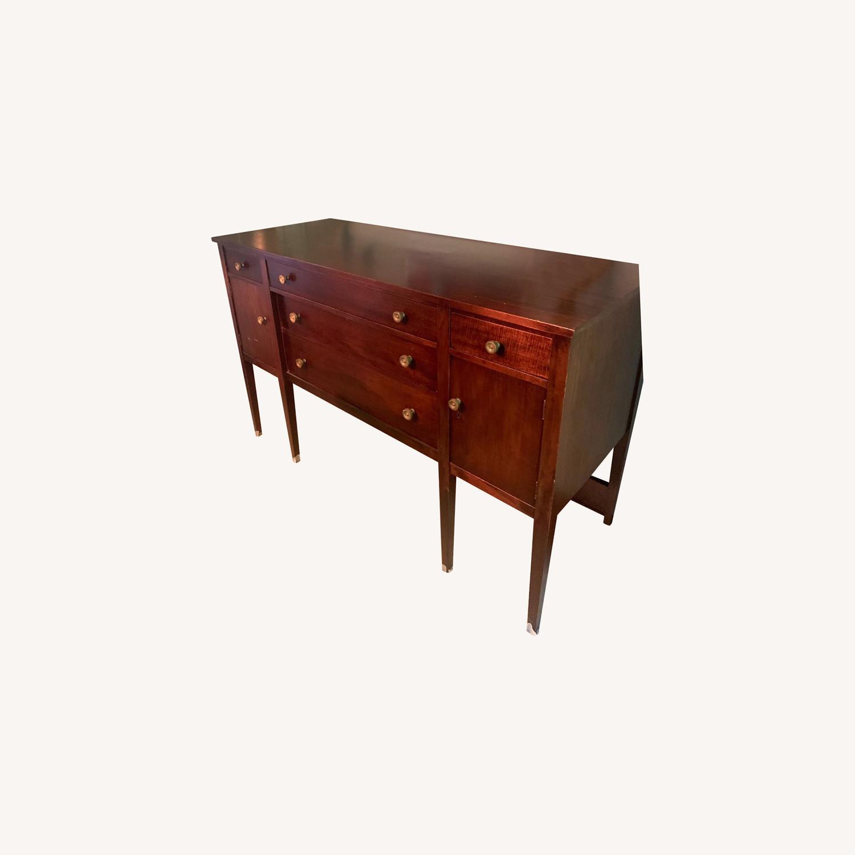 Mahogany Veneer Sideboard - image-0