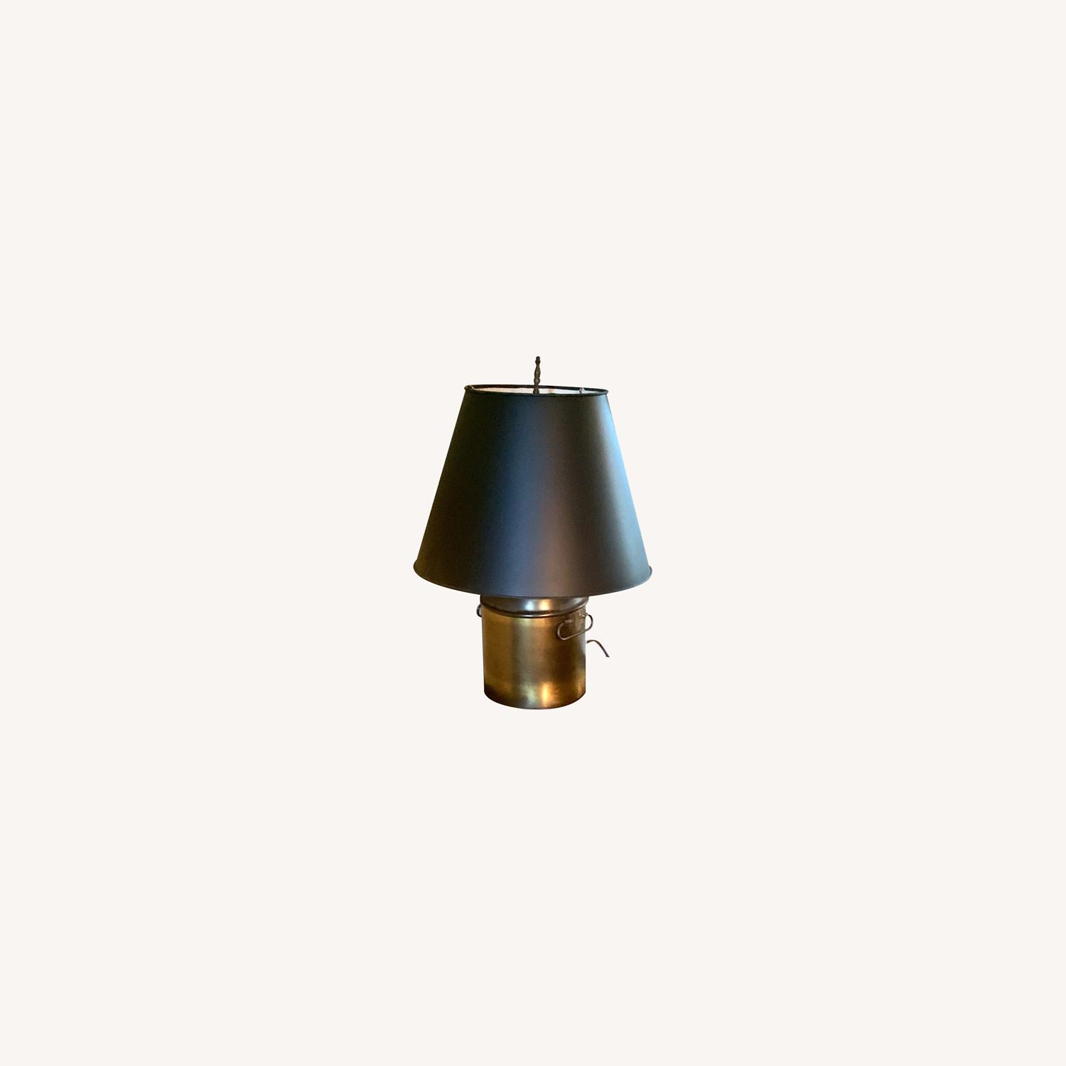 Brass Finish Table Lamp - image-0