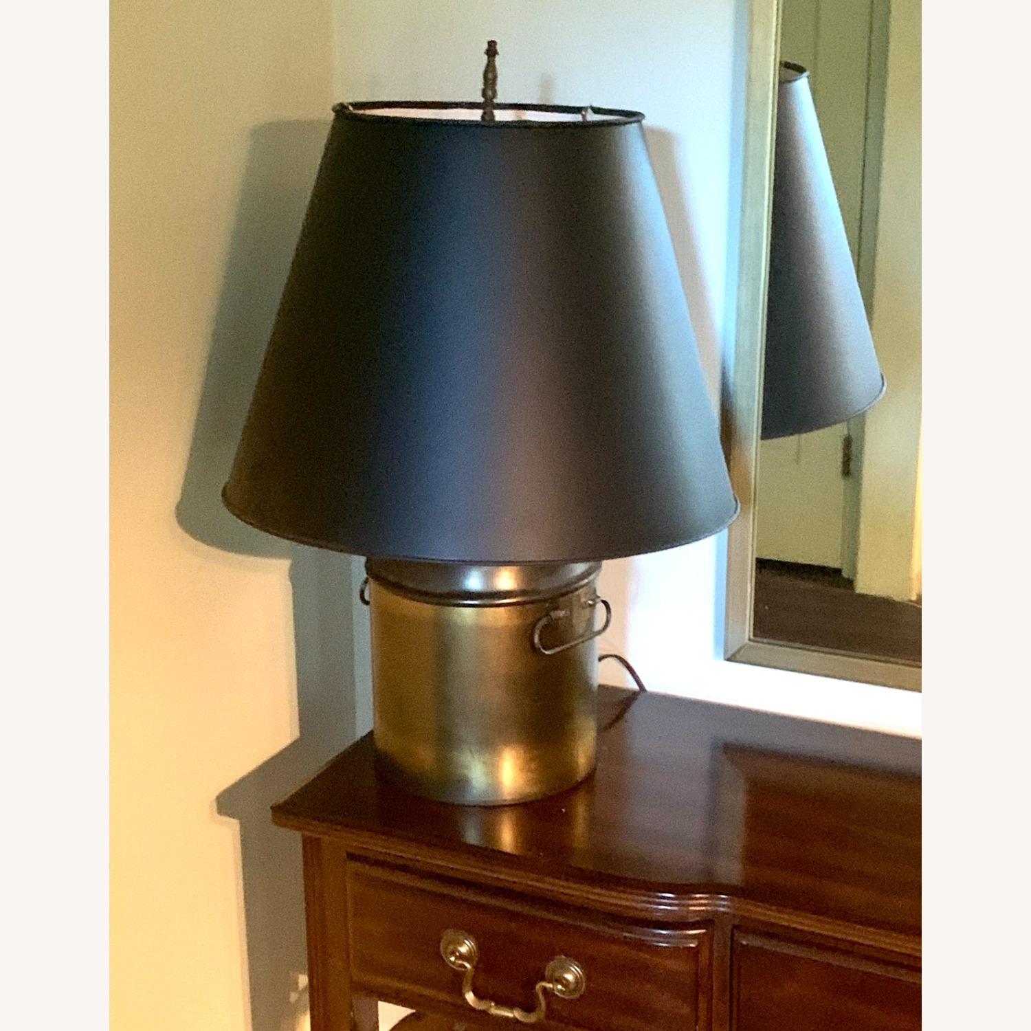 Brass Finish Table Lamp - image-2
