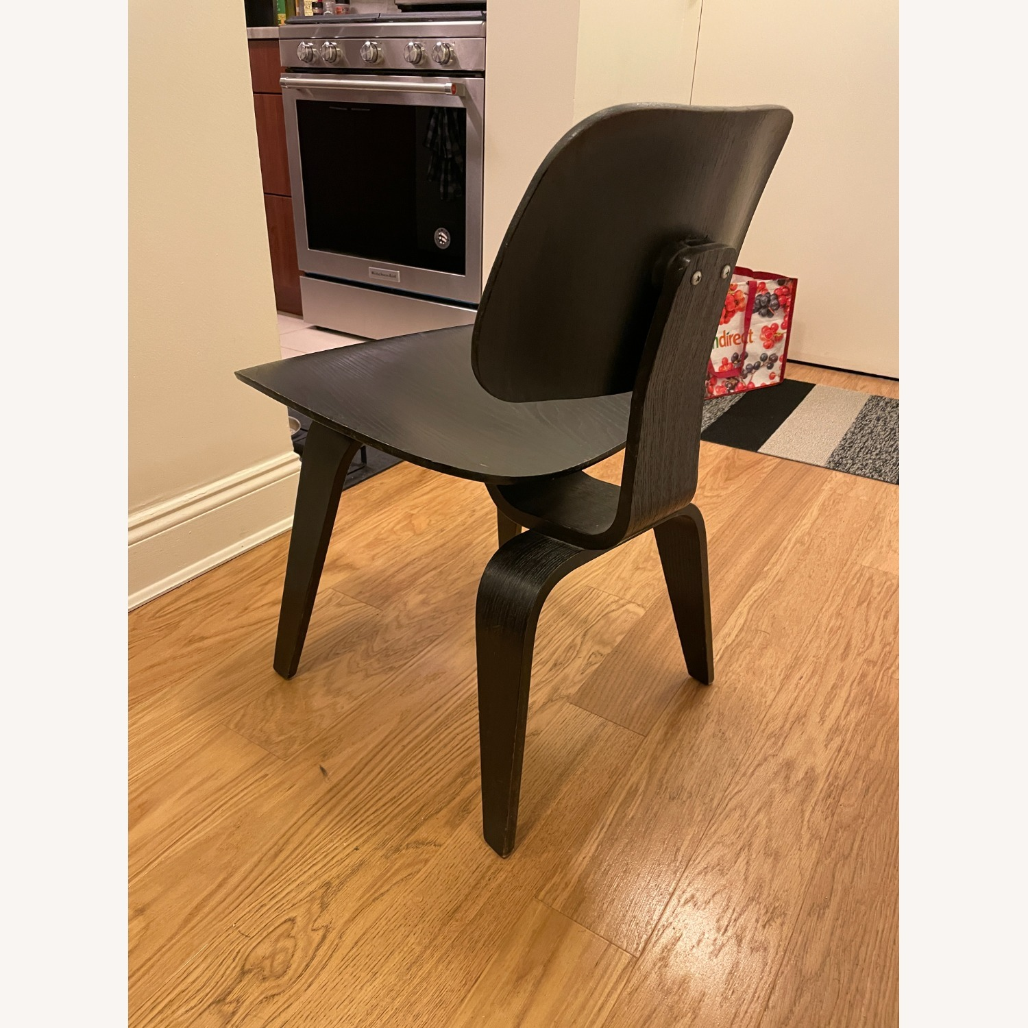 Herman Miller Eames Vintage DCW Chair in Ebony - image-2