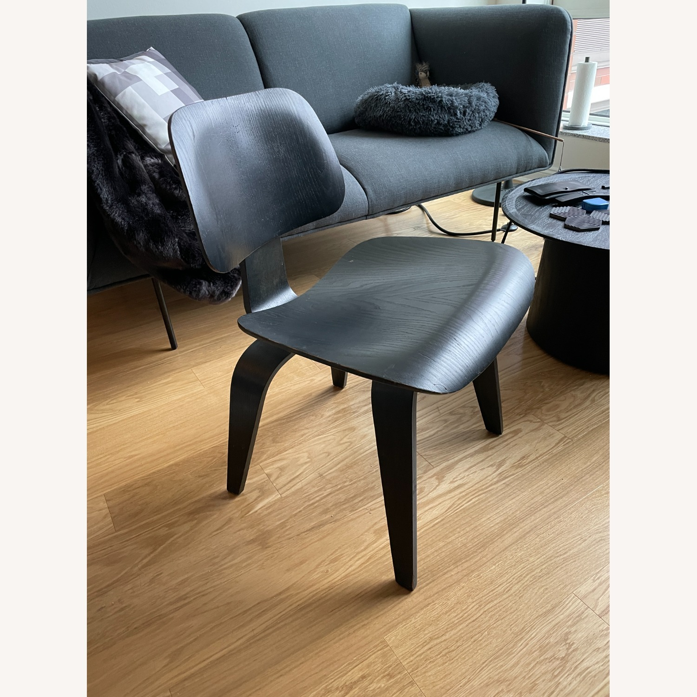 Herman Miller Eames Vintage DCW Chair in Ebony - image-0