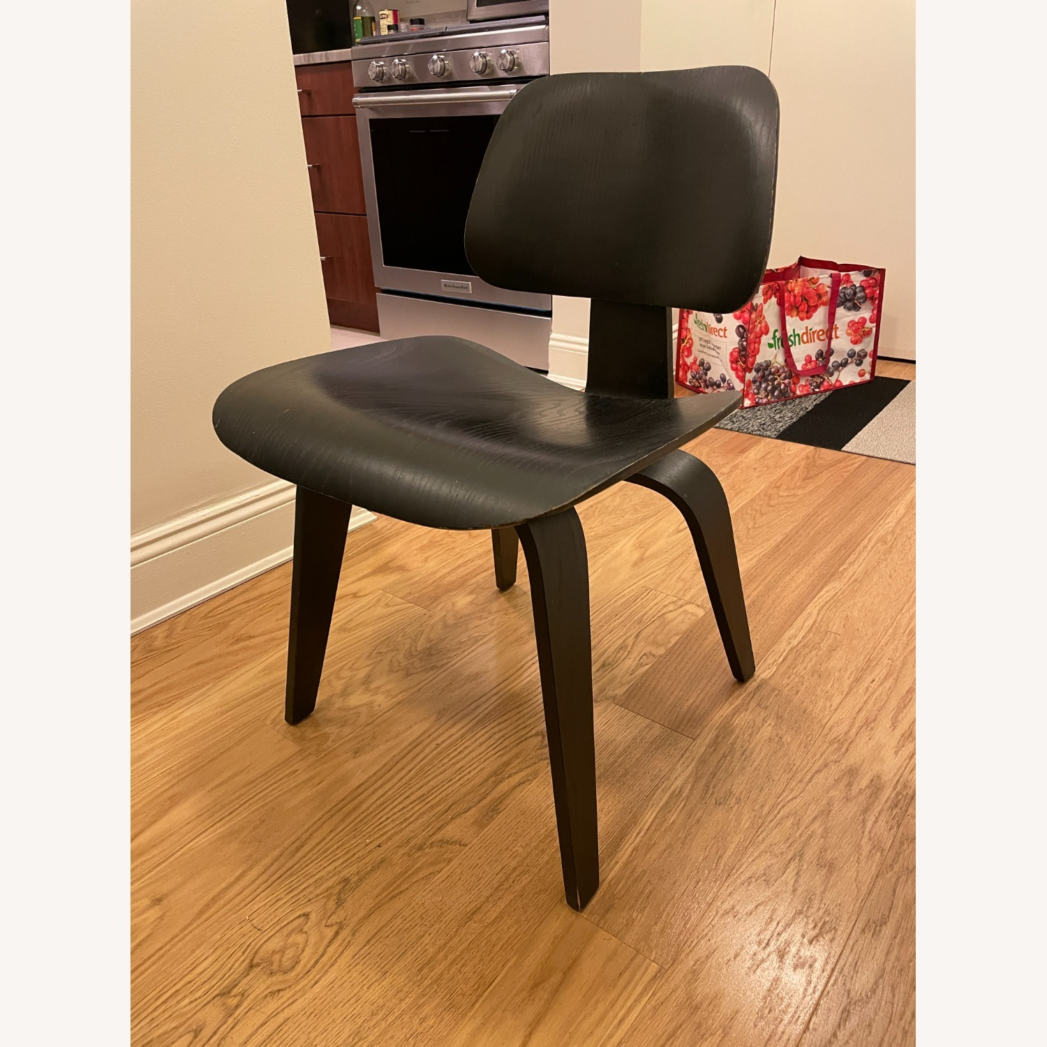 Herman Miller Eames Vintage DCW Chair in Ebony - image-3