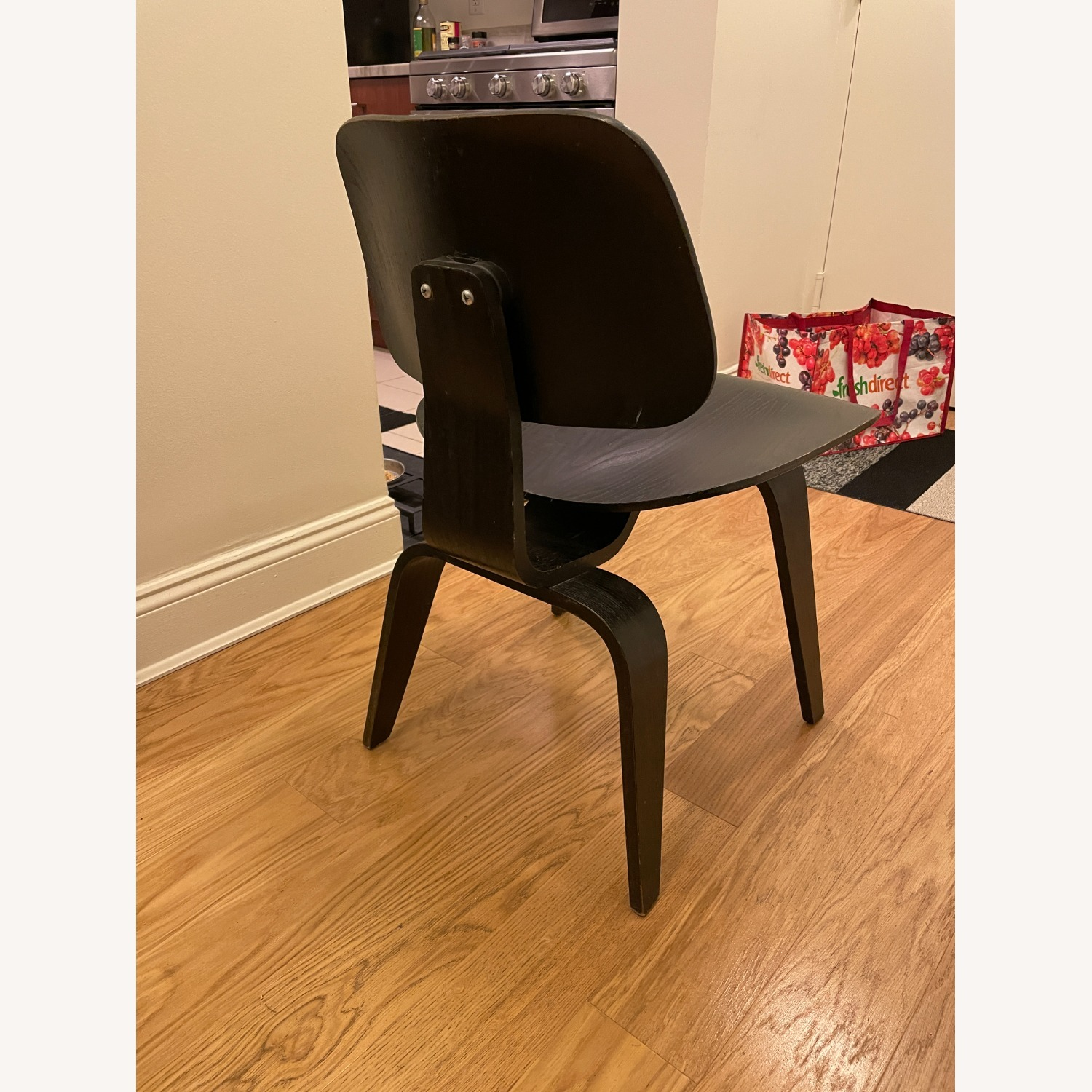 Herman Miller Eames Vintage DCW Chair in Ebony - image-18