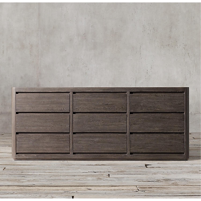 Restoration Hardware Martens 9-Drawer Dresser - image-5