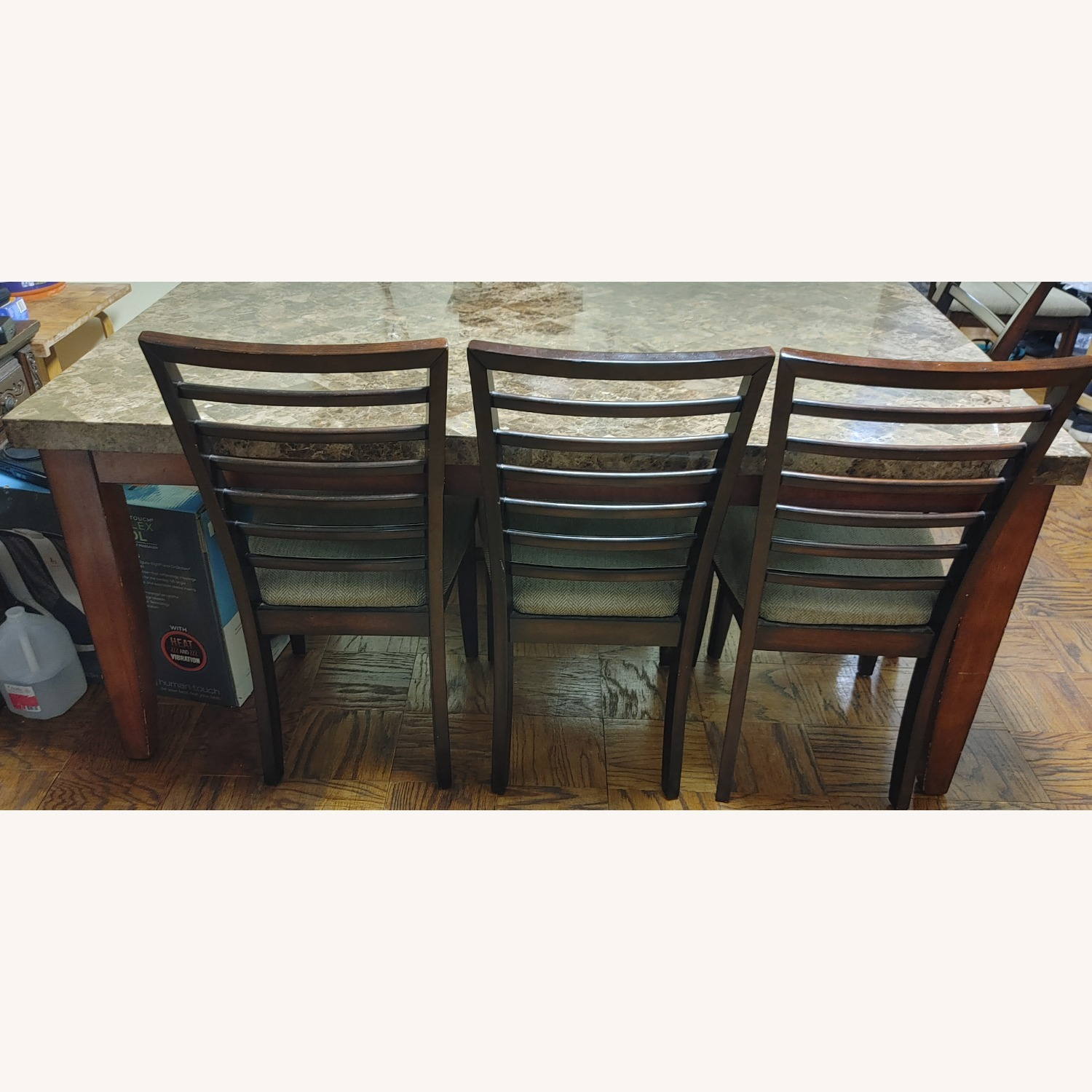 Bob's Discount Rectangular Dining Table with 6 Chair - image-2