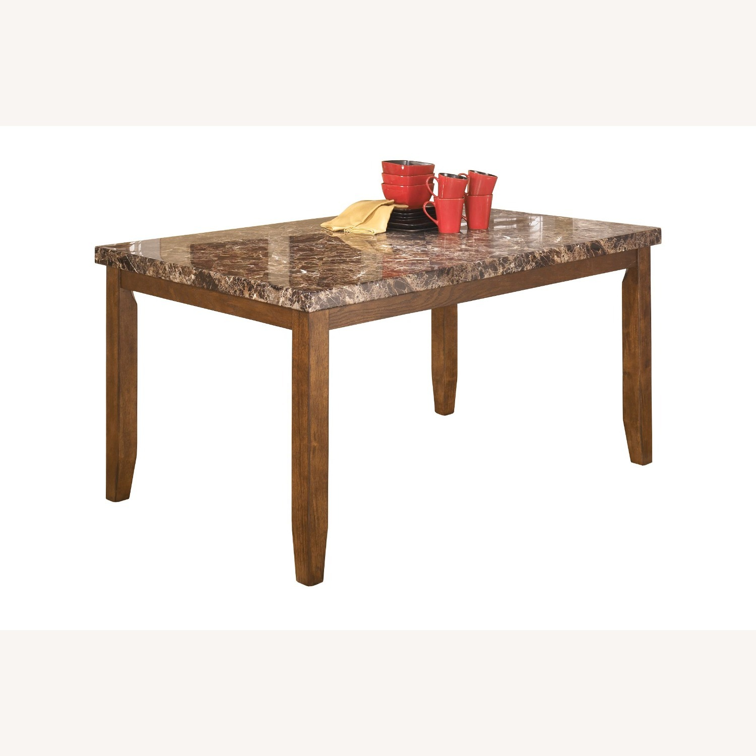Bob's Discount Rectangular Dining Table with 6 Chair - image-1