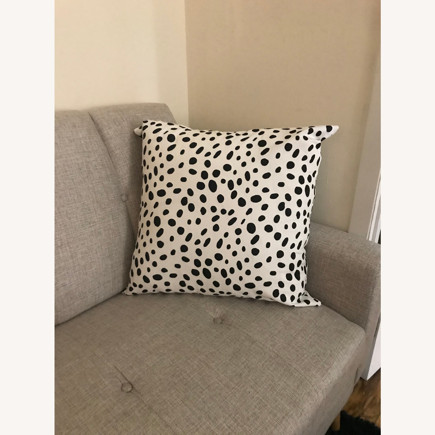 Black&White Pillows Set of 2 - image-3