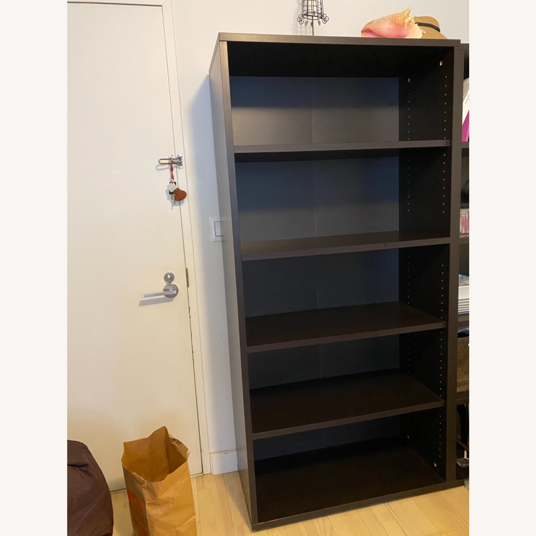 Staples Bush Classic 5-Shelf Wood Bookcase - image-4