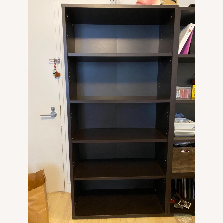 Staples Bush Classic 5-Shelf Wood Bookcase - image-3