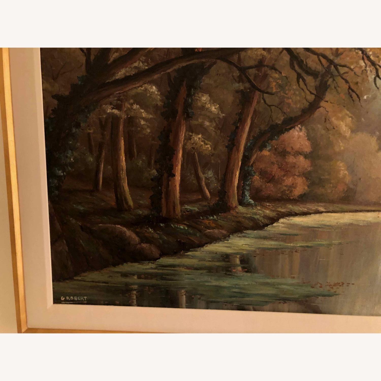 Landscape Oil Signed G Robert - image-4