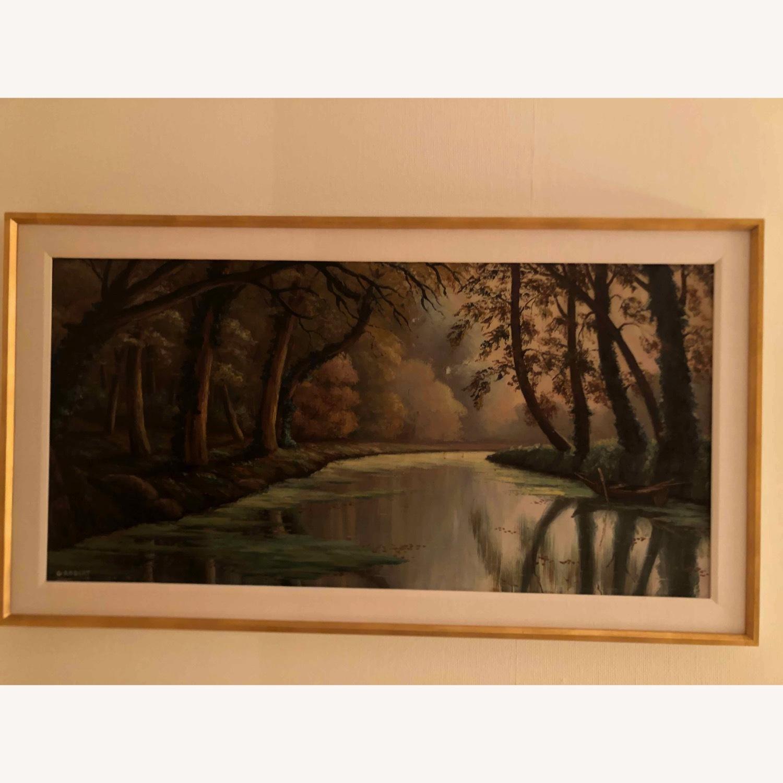 Landscape Oil Signed G Robert - image-1