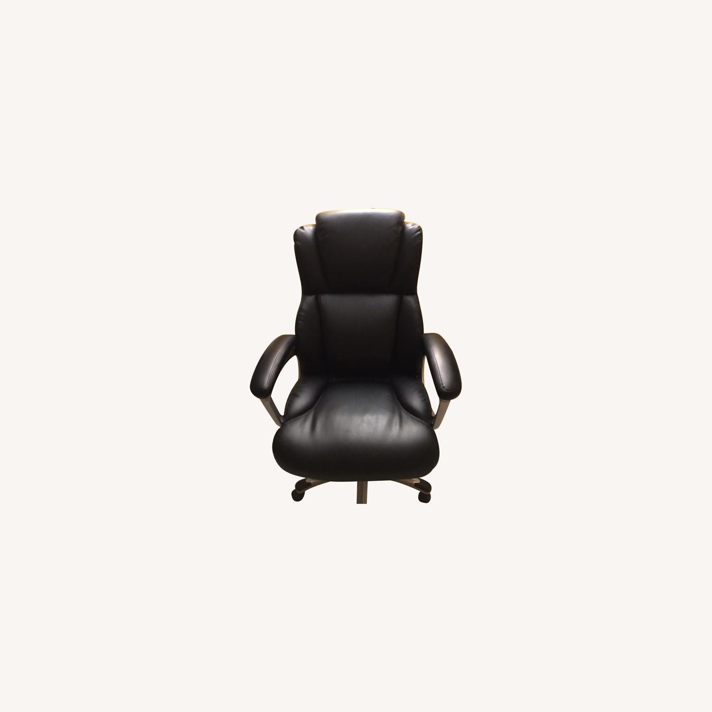 OFM Inc. Ergonomic Executive Bonded Leather Office Chair - image-0