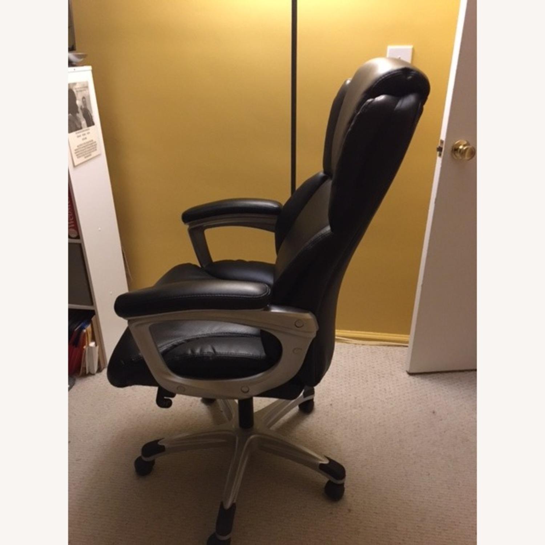 OFM Inc. Ergonomic Executive Bonded Leather Office Chair - image-2