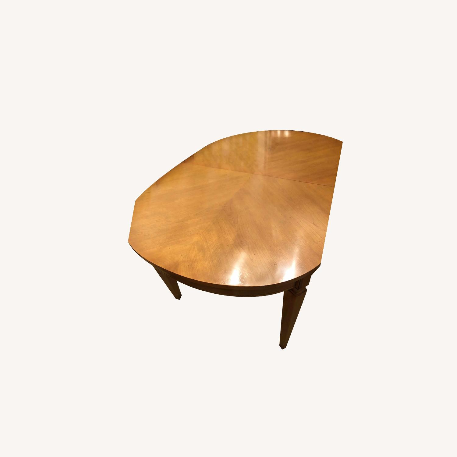 Italian Provincial Oval Dining Table - image-0