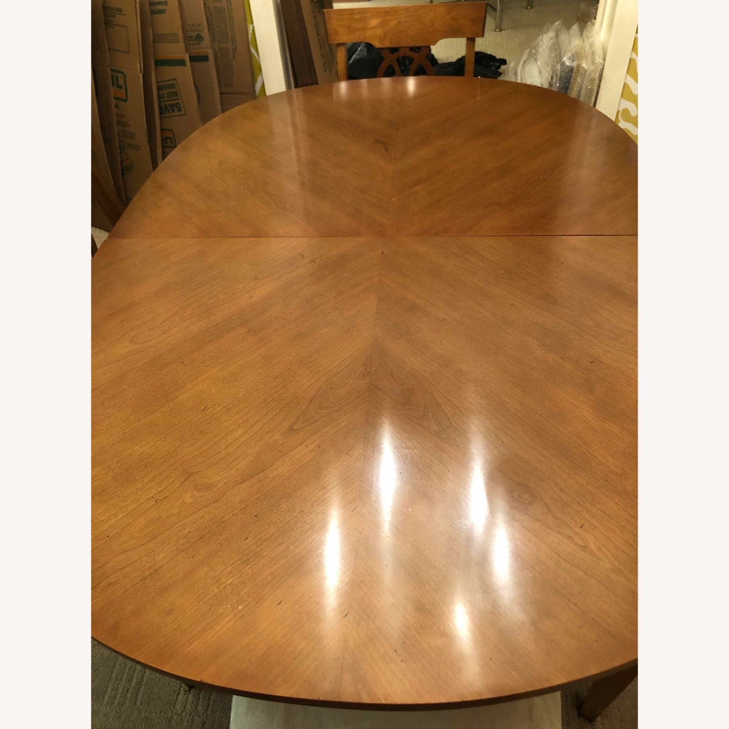 Italian Provincial Oval Dining Table - image-2