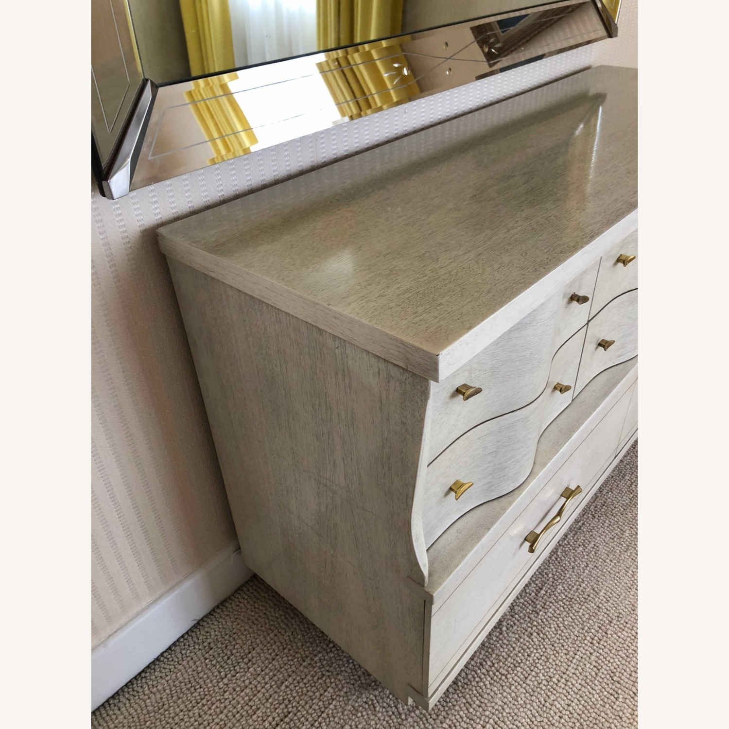 Dresser with Etched Mirror - image-3