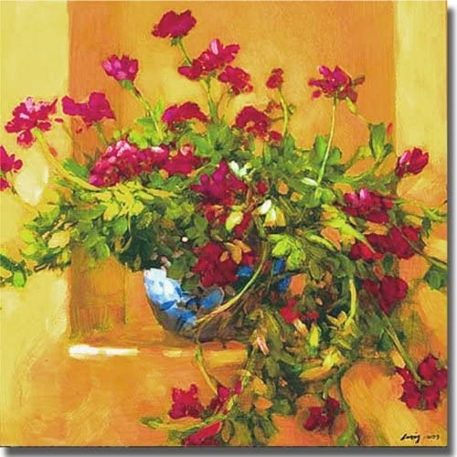 Crate & Barrel Ivy Geraniums by Philip Craig - image-3