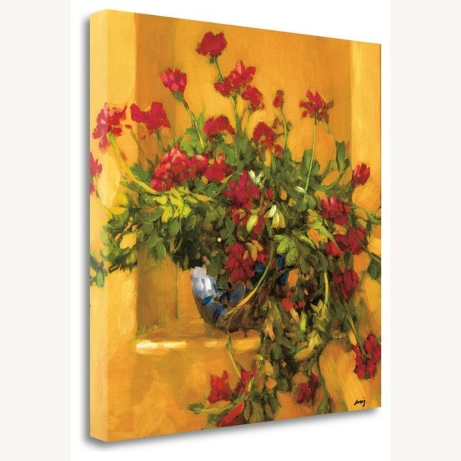 Crate & Barrel Ivy Geraniums by Philip Craig - image-1