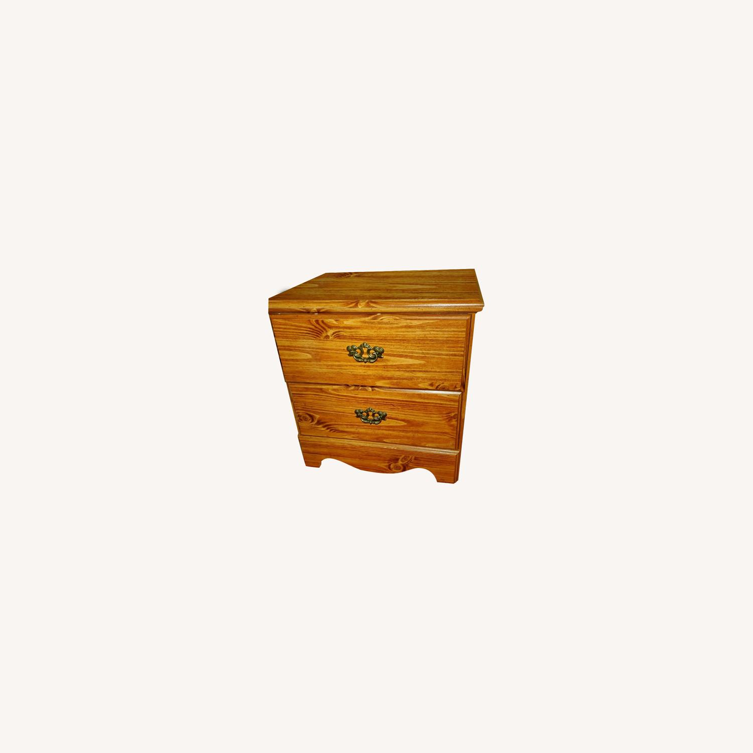 Brown Nightstand - image-0